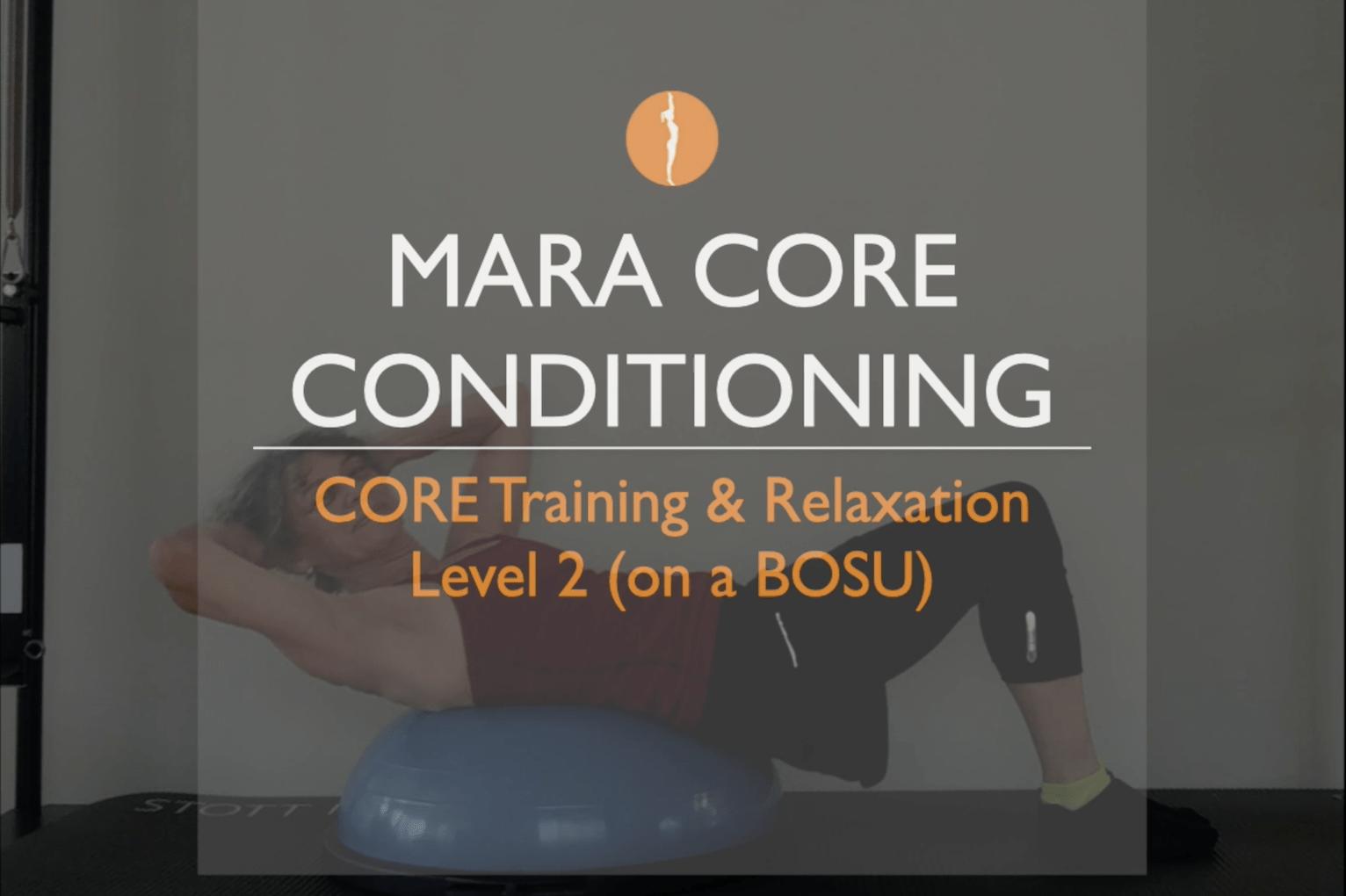 Pilates, Core Strength